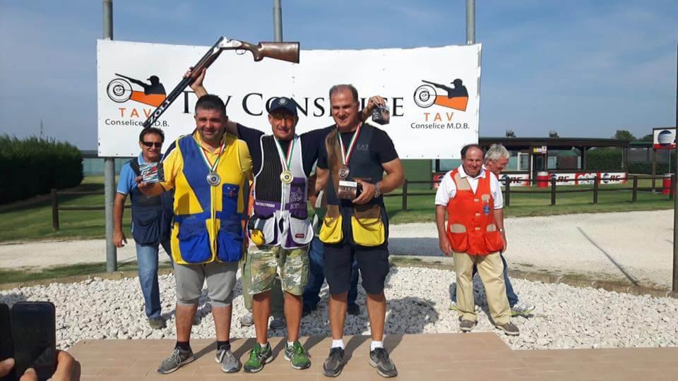 Maurizio Magazzini, 2nd Caregory Olimpic Trap Italian Champion