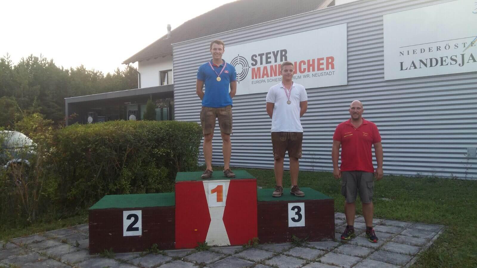 Martin Felbermair Winner Of Fitasc Sporting – Junior Category